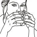 מחזיקה כוס